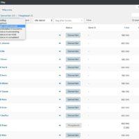 WooCommerce E-conomic Plugin admin massehandling